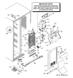 ge refrigerator model 25 schematic wiring diagrams fj [ 2320 x 2475 Pixel ]