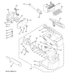 ge gscs3pgxafss ice maker dispenser diagram [ 2320 x 2475 Pixel ]