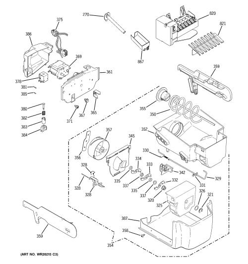small resolution of ge gscs3pgxafss ice maker dispenser diagram