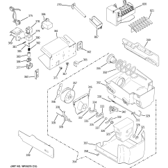 Ice Maker Diagram Bmw Mini Wiring Ge Model Gss25lswass Side By Refrigerator Genuine Parts