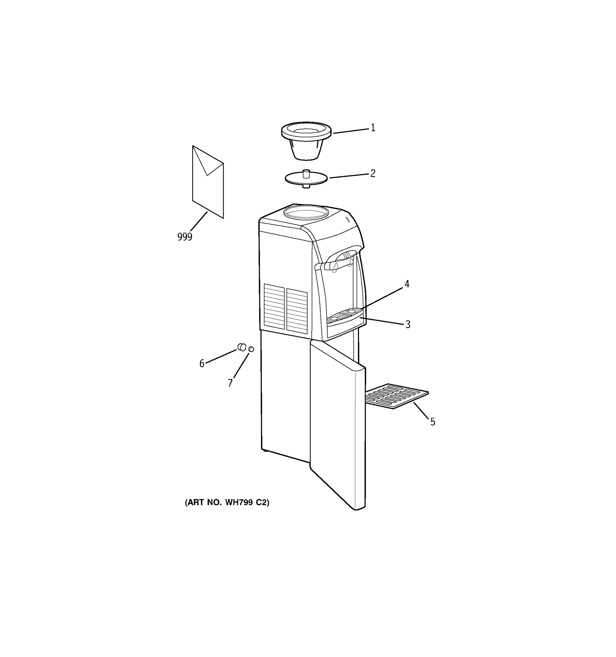 hight resolution of ge gxcf05d hot cold water dispenser diagram