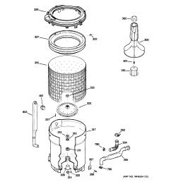 ge model wdsr2120j5ww residential washers genuine parts ge washer schematic diagram ge washer schematic [ 2320 x 2475 Pixel ]