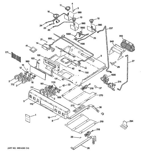 small resolution of ge cgs980sem1ss gas burner parts diagram