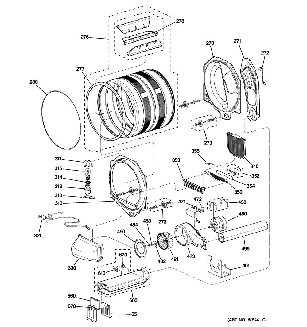 medium resolution of ge dryer diagram