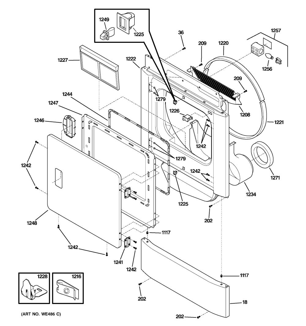 medium resolution of ge electric dryer parts diagram wiring diagram portal rh 1 18 1 kaminari music de ge