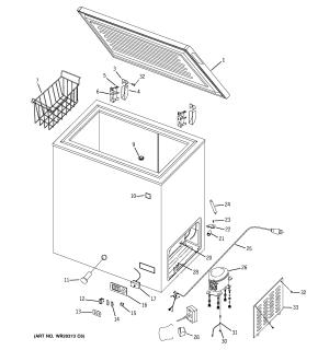 GE FREEZER D SERIES Parts | Model fcm5sudww | Sears