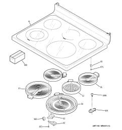 ge jb650dn1bb cooktop diagram [ 2320 x 2475 Pixel ]