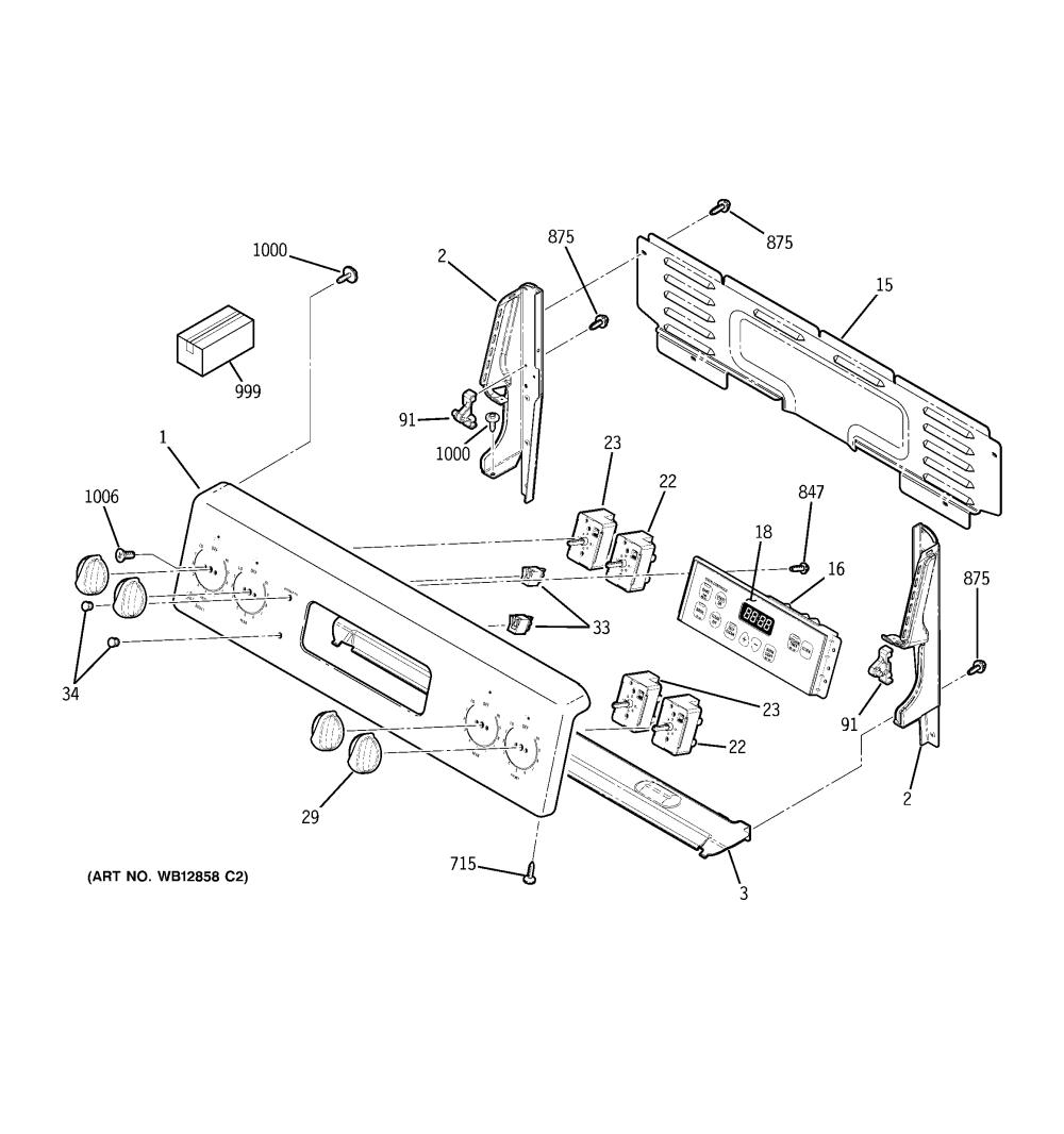 medium resolution of  wrg 7916 ge range schematic