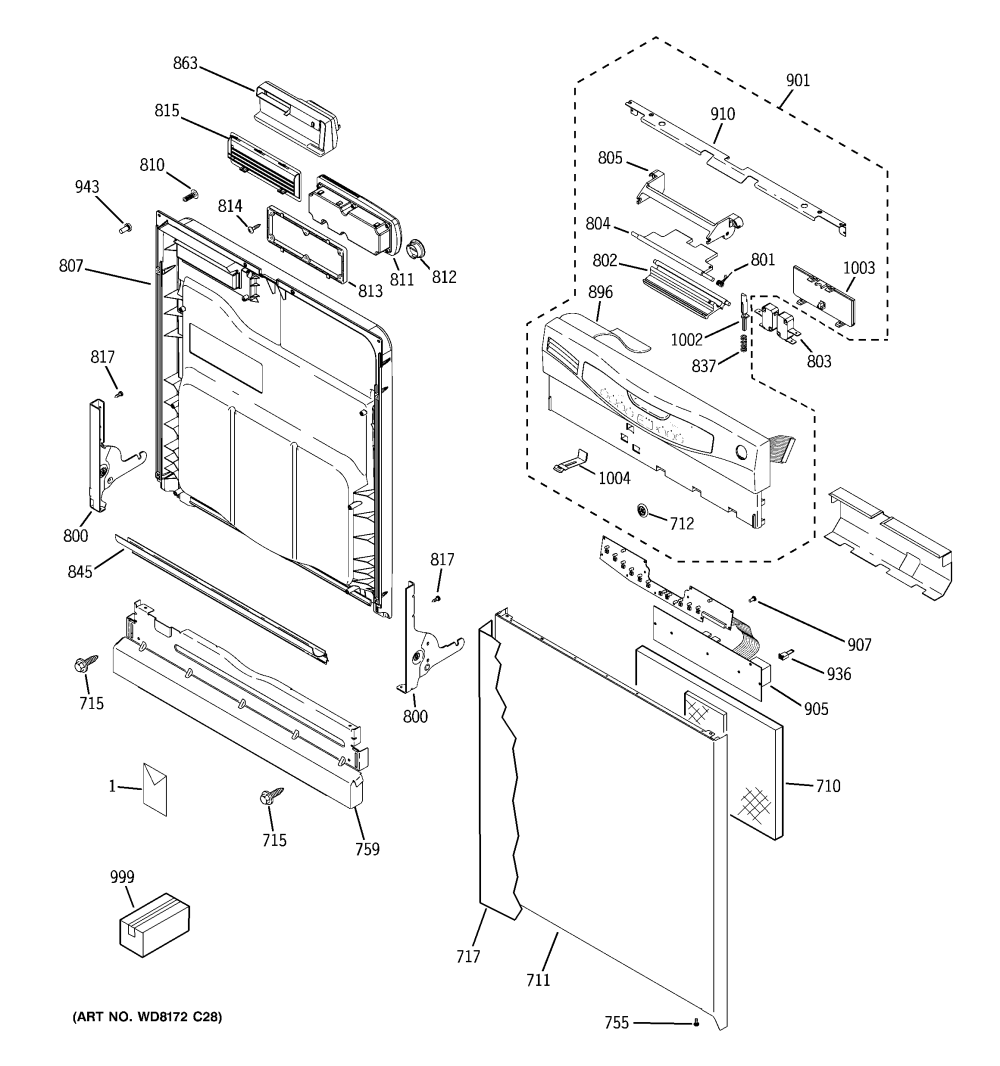 medium resolution of ge model gld4456r00cs dishwasher genuine parts gdf520pgd4bb ge dishwasher diagram ge dishwasher diagrams