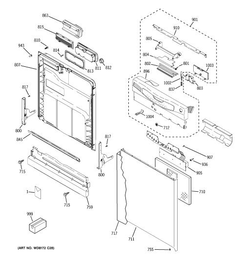 small resolution of ge model gld4456r00cs dishwasher genuine parts gdf520pgd4bb ge dishwasher diagram ge dishwasher diagrams