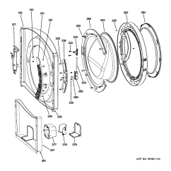 Ge Front Load Washer Wiring Diagram Chinese Gy6 Best Library Model Wcvh6800j2ww Residential Washers Genuine Partsge 20