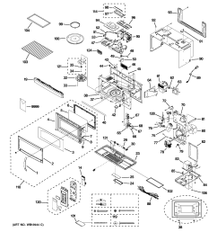 ge model jvm1850dm3cc microwave hood combo genuine parts ge profile microwave parts diagram [ 2320 x 2475 Pixel ]