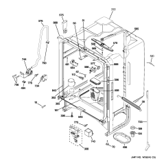 Ge Dishwasher Schematic Diagram Building Electrical Wiring Software Gld4408r00ww
