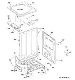 ge gfdn110gl0ww cabinet diagram [ 2320 x 2475 Pixel ]