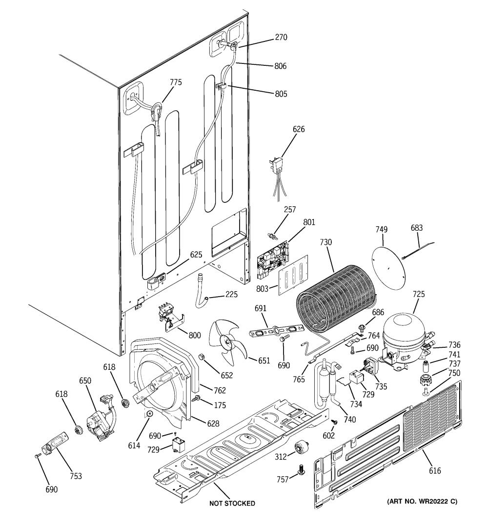 medium resolution of ge fridge schematics wiring diagram paper looking for ge model gshl6kgzbcls side by side refrigerator repair