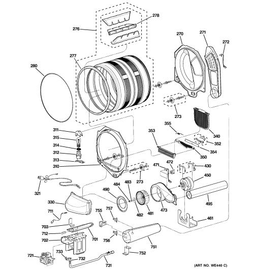 small resolution of ge gas dryer diagram wiring diagram repair guides ge dryer motor wiring diagram ge dryer diagram