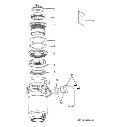 disposal diagram wiring diagram garbage disposal wiring including garbage disposal parts diagram [ 2320 x 2475 Pixel ]