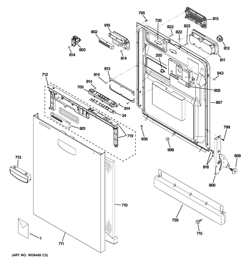 medium resolution of ge model gld5606v00ww dishwasher genuine parts ge dishwasher parts 24 ge dishwasher diagram