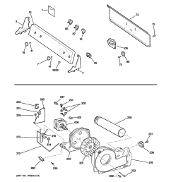 ge gtdp300em1ws backsplash blower motor assembly diagram [ 2320 x 2475 Pixel ]