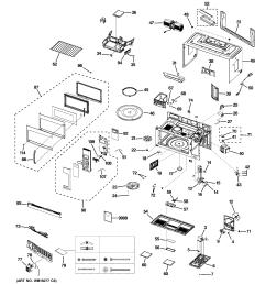 ge jvm1950dr1bb microwave diagram [ 2320 x 2475 Pixel ]
