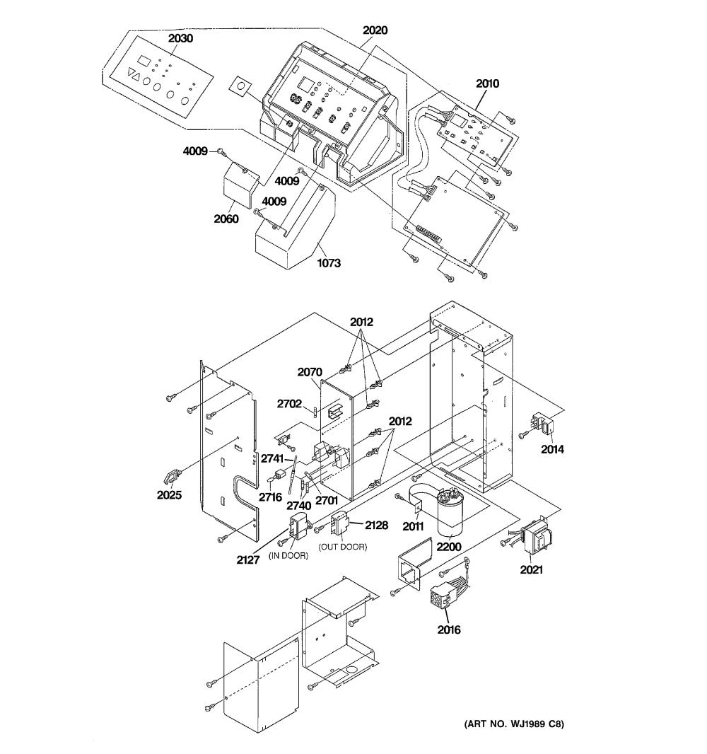 medium resolution of ge az41e12dabw1 control parts diagram