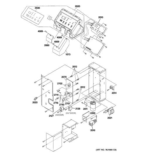 small resolution of ge az41e12dabw1 control parts diagram