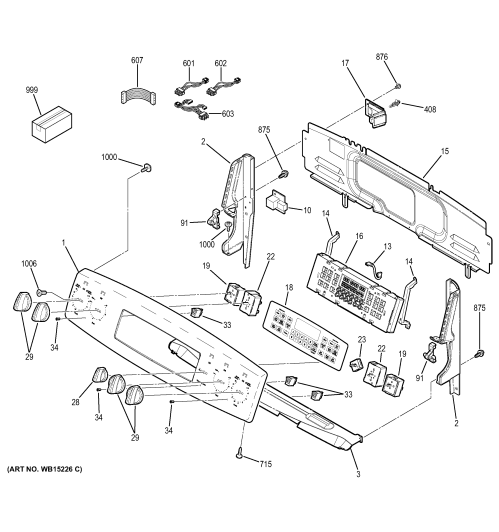 small resolution of wiring diagram parts list for model 502254260 craftsman