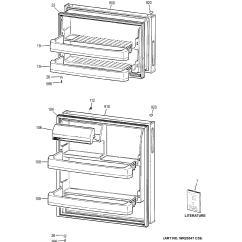 Hotpoint Electric Stove Wiring Diagram 12volt Com Model Htr16abshrbb Top Mount Refrigerator Genuine Parts