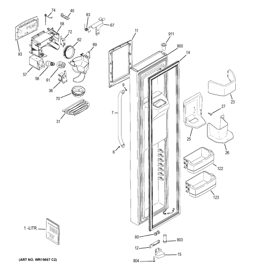 small resolution of ford oem part diagram