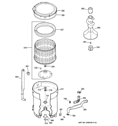 ge model gtwn2800d0ww residential washers genuine parts wiring diagram ge washer g153  [ 2326 x 2475 Pixel ]