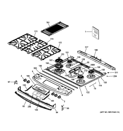 ge p2s920sef1ss control panel cooktop diagram [ 2325 x 2476 Pixel ]