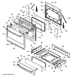 ge p2s920sef1ss door drawer parts diagram [ 2326 x 2476 Pixel ]