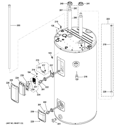 ge model geh50deedsrb water heater electric genuine parts ge water heater diagram gg38206ak00 ge water heater diagram [ 2326 x 2474 Pixel ]