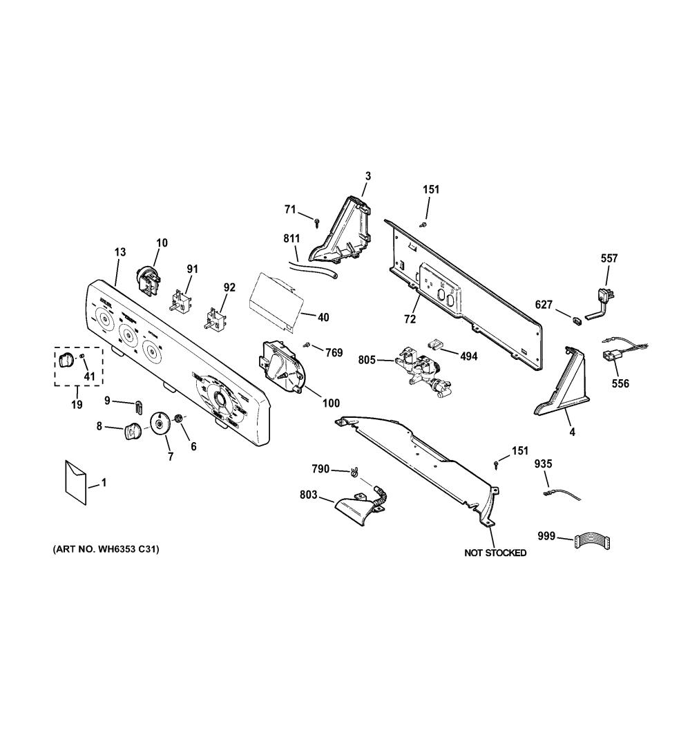 medium resolution of ge hotpoint washer part diagram