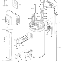Electric Hot Water Tank Wiring Diagram Baldor Single Phase Motor With Capacitor Ge Heater