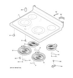 ge jb645dk3ww cooktop diagram [ 2448 x 3168 Pixel ]