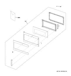ge cvm9179sl1ss door parts diagram [ 2448 x 3168 Pixel ]