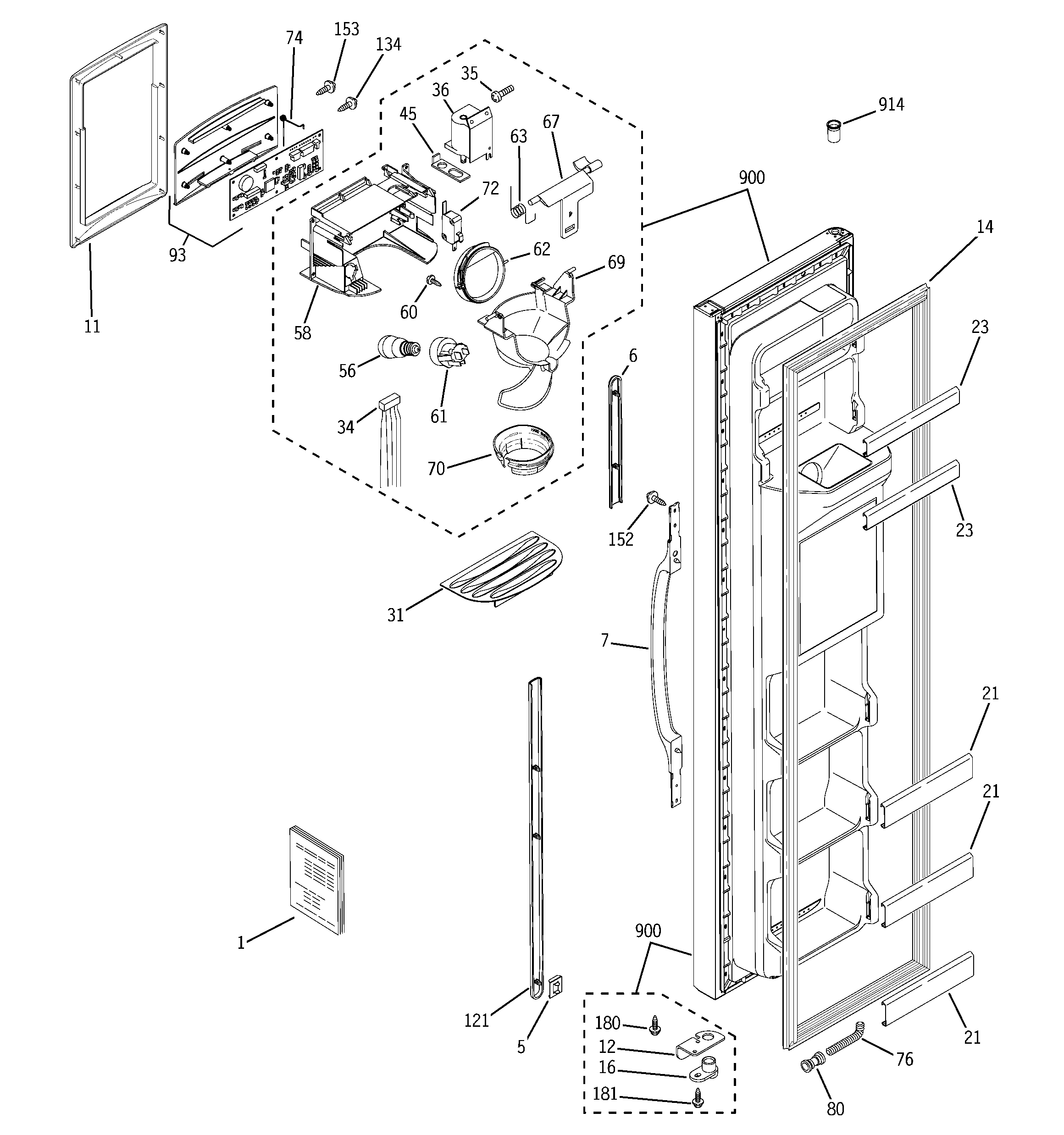 ge refrigerator schematic diagram virago 1100 wiring i need a water line for the dispensing