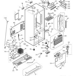 Ge Wiring Diagram Refrigerator Maytag Dryer Fridge Great Installation Of Model Pfs22sisbss Bottom Mount Genuine Parts Rh Searspartsdirect Com
