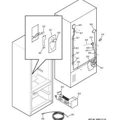 Wiring Diagram For Ge Refrigerator 2001 Subaru Forester Fuel Pump Model Pfs22sisbss Bottom Mount Genuine Parts