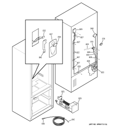 ge refrigerator motherboard wiring diagram [ 2320 x 2475 Pixel ]