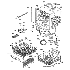 Dishwasher Air Gap Installation Diagram Fender Lace Sensor Wiring Ge Gsd5330d Does Not Drain Completely Pressing