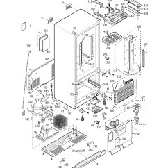 Ge Wiring Diagram Refrigerator 5 Jaw Meter Socket Fridge Profile Pfss6pkwas Repair Schematics Diagrams U2022 Rh Schoosretailstores Com Manual