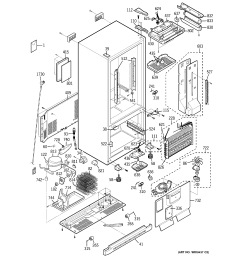 ge model pds22scpalss bottom mount refrigerator genuine partsge freezer wiring diagram 18 [ 2320 x 2475 Pixel ]