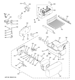 hotpoint hsh25ifteww ice maker dispenser diagram [ 2320 x 2475 Pixel ]
