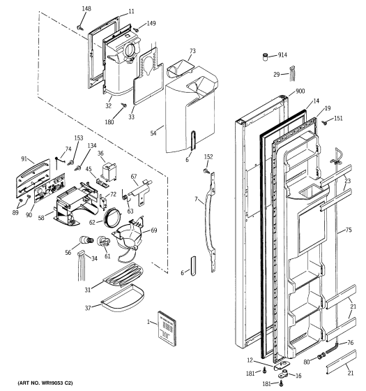 wiring diagram for hotpoint fridge freezer