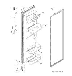 hotpoint model hsm25gfrfsa side by side refrigerator genuine parts wire diagram for ge refrigerator model 22 25 [ 2320 x 2475 Pixel ]