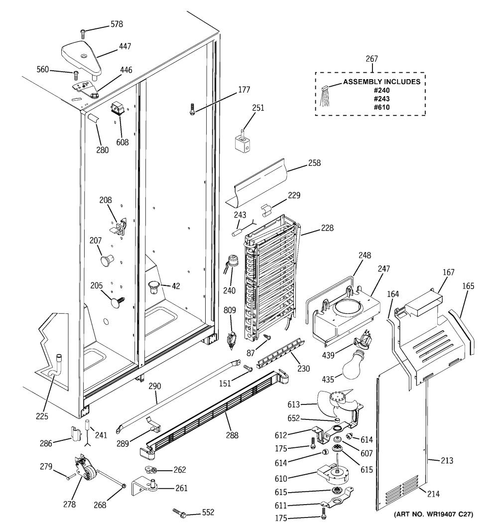 medium resolution of  wrg 7679 hotpoint refrigerator wiring schematic