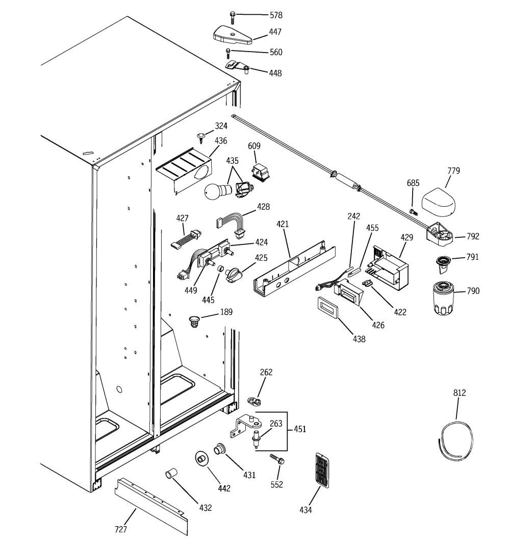 medium resolution of ge adora refrigerator parts diagram electrical schematic ge refrigerator water dispenser parts fridge water dispenser parts