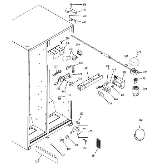 small resolution of ge adora refrigerator parts diagram electrical schematic ge refrigerator water dispenser parts fridge water dispenser parts